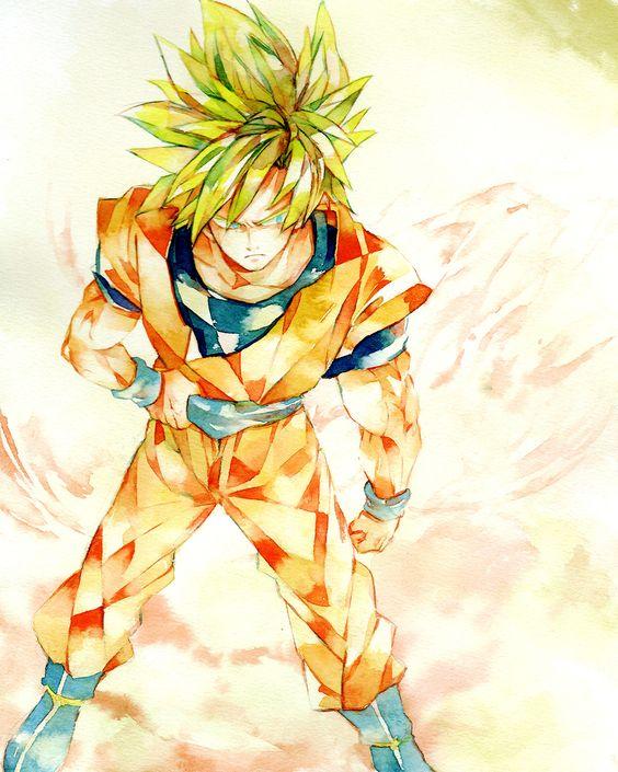 SSJ Goku #DBZ