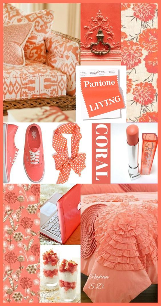 Pantone just unveiled its color of the year for 2019 – vibrant, yet mellow, Living Coral embodies the desire for playful expression while it symbolizes our innate need for optimism and joyful pursuits. #pantone #coloroftheyear2019 #livingcoral