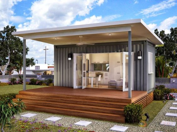 How to build your own shipping container home flats home and stone bench Build your own container home