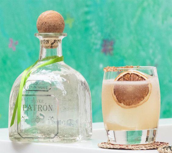 La Hacienda, cocktail à la tequila Patrón Silver par Mido Ahmed Yahi #mixologie #gastronomie #bartending