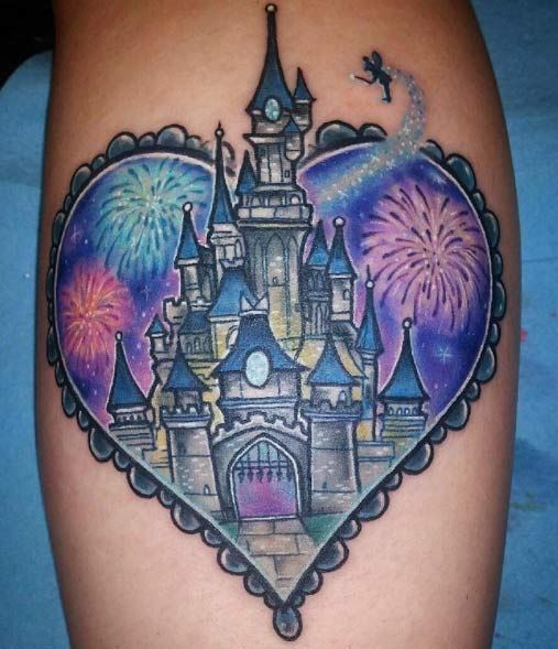 1000 ideas about castle tattoo on pinterest disney castle tattoo disney tattoos and tattoos. Black Bedroom Furniture Sets. Home Design Ideas