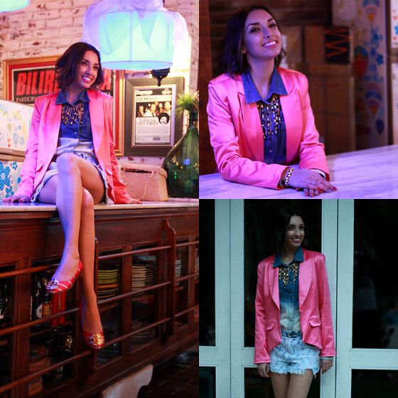 Pink and social look #ootd