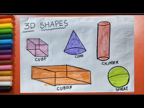 87 Shapes Drawing For Kids Step By Step Solid Shapes Drawing Solid Shapes Drawing For Kids Youtube 3d Shapes For Kids Drawing For Kids Solid Shapes