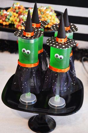 green halloween jello shots