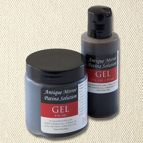 Antique Mirror Patina Solution Gel Concentrate Antiques