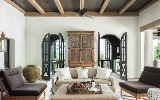 Ceiling beams ceiling color arched doorways for Arched ceiling beams