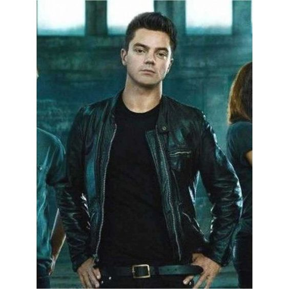 Need For Speed Dino Brewster Celebrity Black Leather Jacket