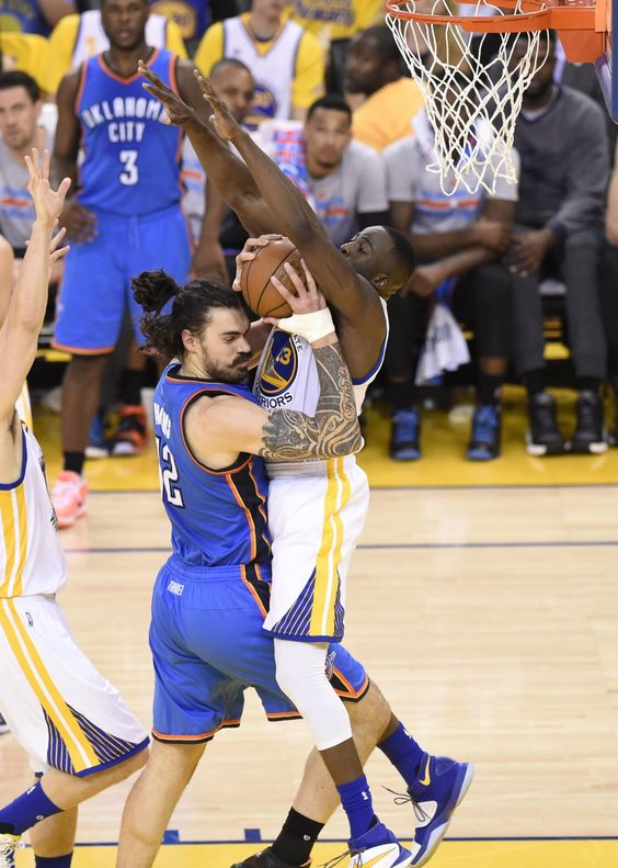 The winner of the Thunder-Warriors series will be the Cavaliers
