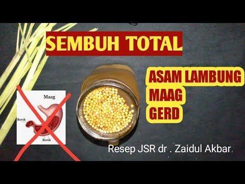 Resep Jsr Obat Maag Asam Lambung Dan Gerd Dr Zaidul Akbar Youtube Di 2020 Rebusan Kesehatan Kunyit