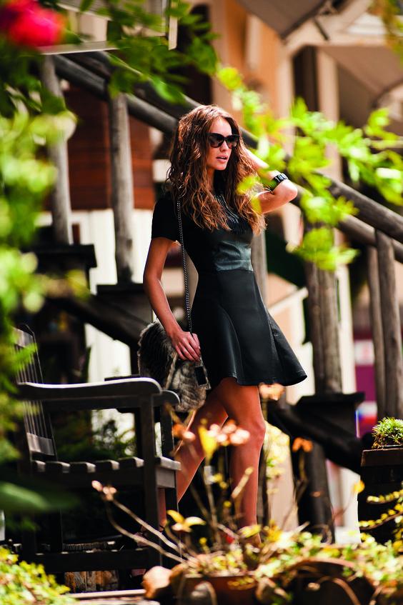 Vestido Líquido - Modelo: Karen Nuernberg