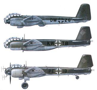 Als Weiterentwicklung der Ju 188 E bzw. Ju 188 S/T, der sie stark ähnelte, sollte die Ju 388 ein Vielzweckflugzeug für große Höhen sein, das als Zerstörer (J). Kampfflugzeug (K) und Fernaufklärer (L) einzusetzen sein sollte. Voraussetzungen dafür waren Motoren entsprechender Leistung in der Höhe, eine Druckkabine für die Besatzung und ferngesteuerte Abwehrbewaffnung. Als Motor war schließlich der BMW 801 TJ gewählt worden, der in 11 km Höhe noch 1490 PS (1095 kW) leistete.