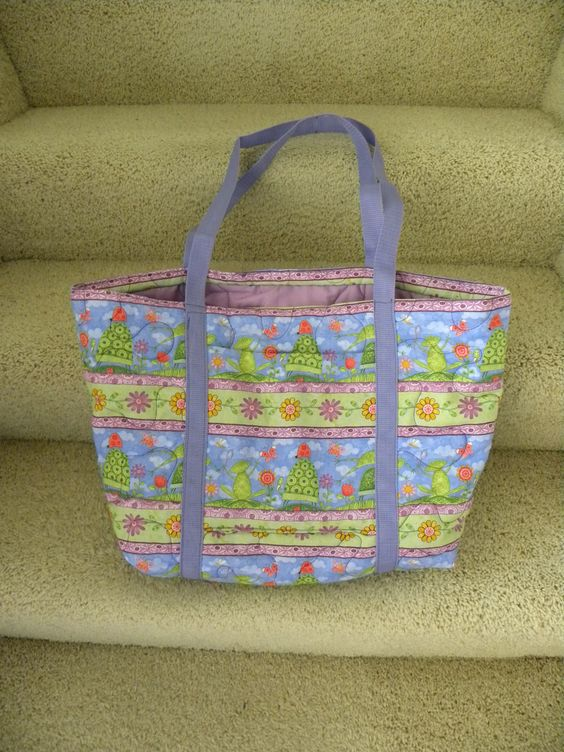 Quilted Spring Bag