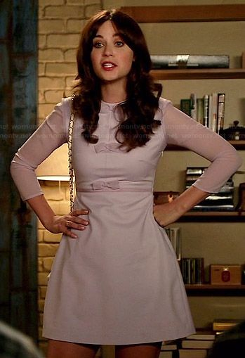 #new_girl #jess #style #60's dress