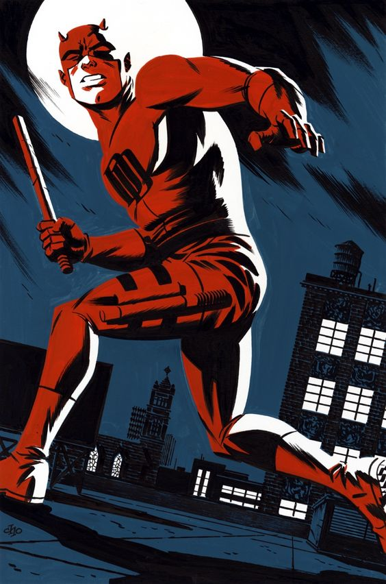 The Lesbo Gotham Deserves | spaceshiprocket:   Daredevil by Michael Cho