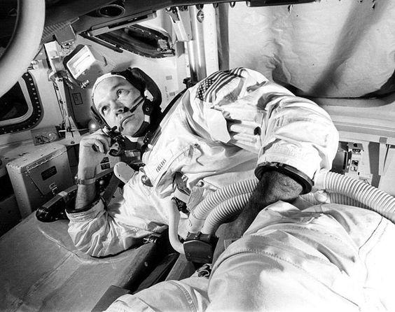 """Houston, Apollo 11 . . . I've got the world in my window."" -Michael Collins, Apollo 11, Day 2, Mid-course Correction"