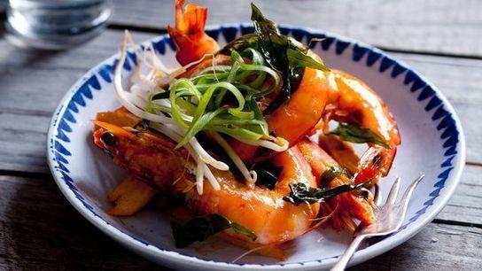 Recette de crevettes sautées au tamarin