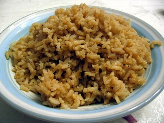 I love this pilaf! I never liked brown rice until I tried it this way. It goes with just about anything, and the leftovers (when there are any) reheat well, too.
