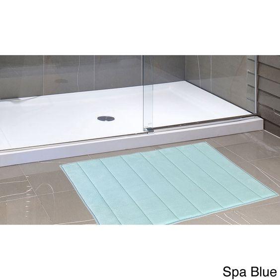 Carnation Home Fashions Ultra-Soft 21x34 Bath Mat
