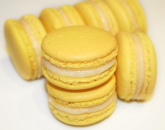 La cuisine de bernard les macarons au citron food for Cuisine bernard