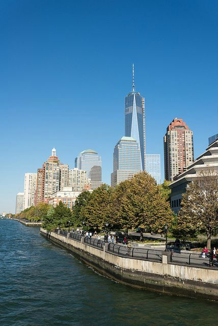 Battery Park……re pinned by Maurie Daboux ╰☆╮
