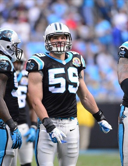 Carolina Panthers: Luke Keuchly named Defensive Player of the week