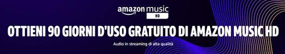 3 mesi gratis di Amazon Music