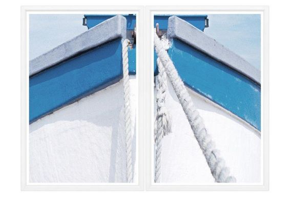 Boat Bow II Diptych