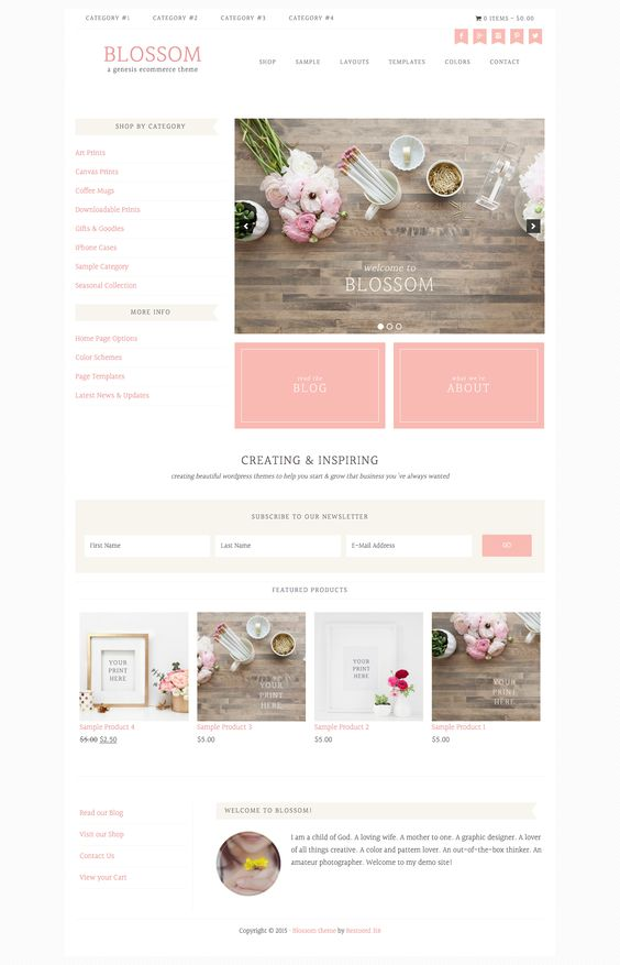 Beautique theme