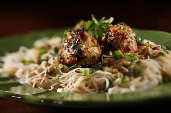 Thai Chicken Meatballs   Dallas Morning News