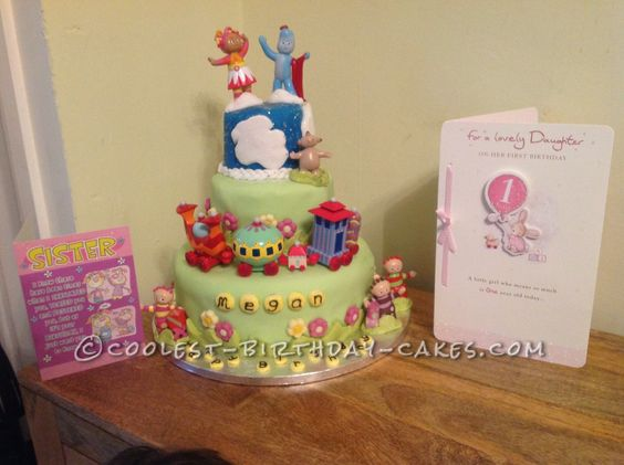 Pinterest the world s catalogue of ideas for In the night garden cakes designs