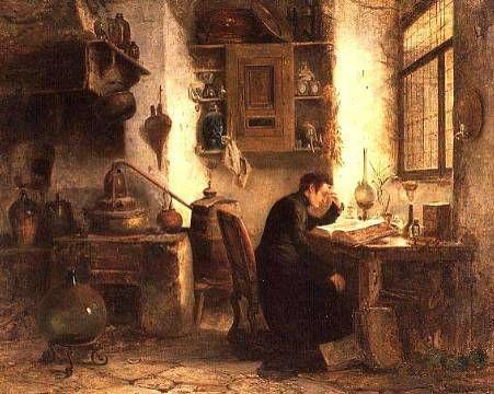 The student of chemistry and pharmacy by Karl Joseph Litschaur