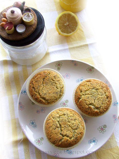 Pura Passione - Muffin al limone e semi di papavero