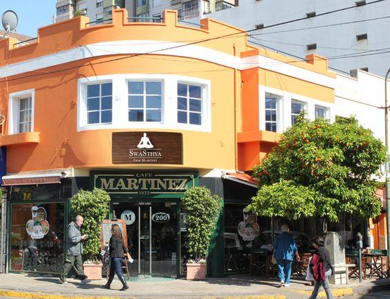 Estamos ubicados en el corazon de Martinez, Arenales 1983, esquina Alvear.