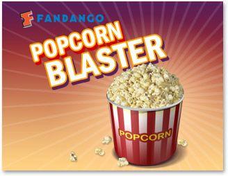 Popcorn Blaster Online Game from Fandango