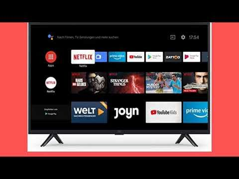 Xiaomi Mi Smart Tv 4a 32 Zoll Deutsch Youtube