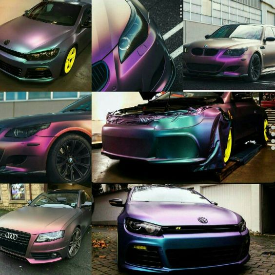 Chameleon Car Wrap Oracal Wrapping Car Pinterest