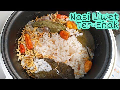 Resep Nasi Liwet Gurih Wangi Nasi Liwet Rice Cooker Youtube Resep Nasi
