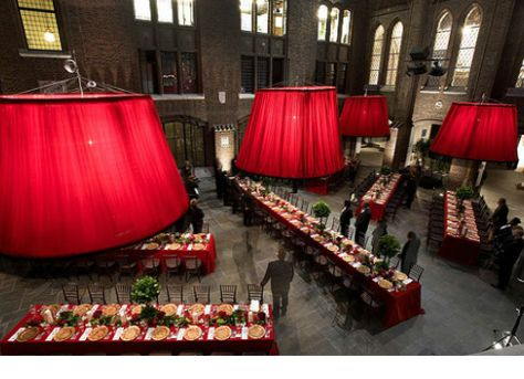 """How To Plan A Red Party: 10 Ideas To Get """"The Look"""" 