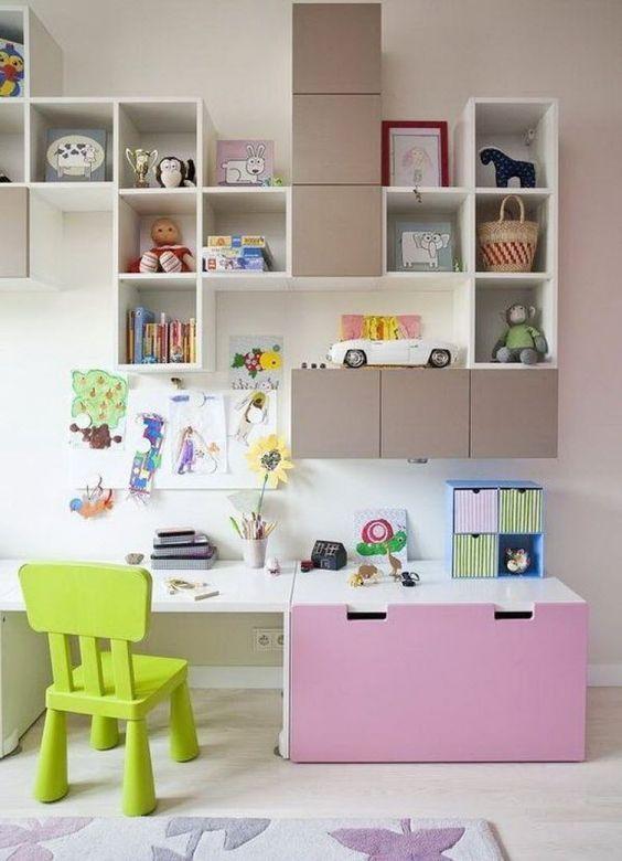 Plan De Travail Bureau Commande Meisjeskamer Opbergen Woonkamer Ideeen Voor Een Kamer