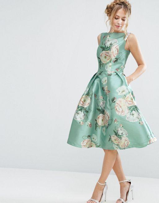 12++ Chi chi london printed satin midi prom dress inspirations