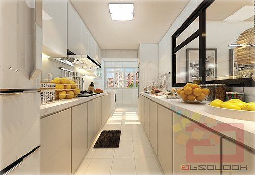 Hdb 5 room bto blk 279b compassvale ancilla interior design singapore home deco Kitchen design in hdb