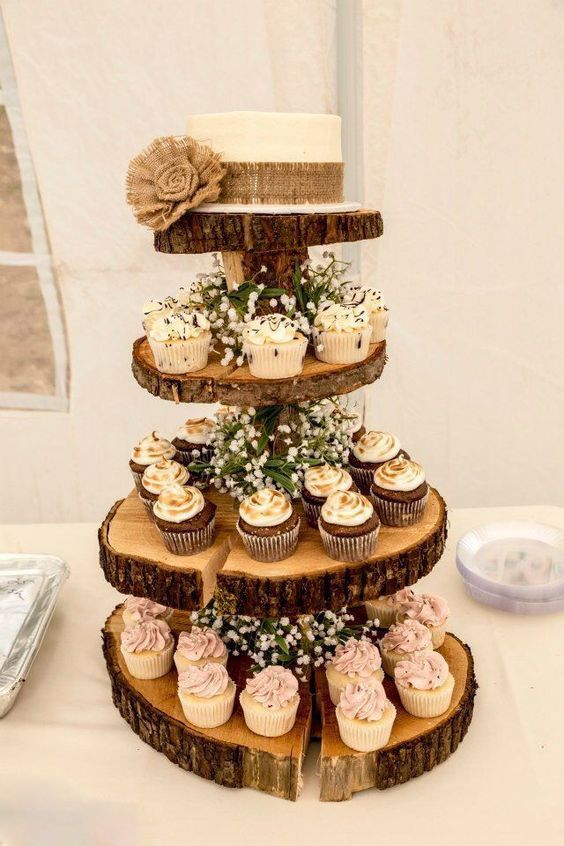 27 Rustic Wedding Decorations You Must Have A Look Four Layers