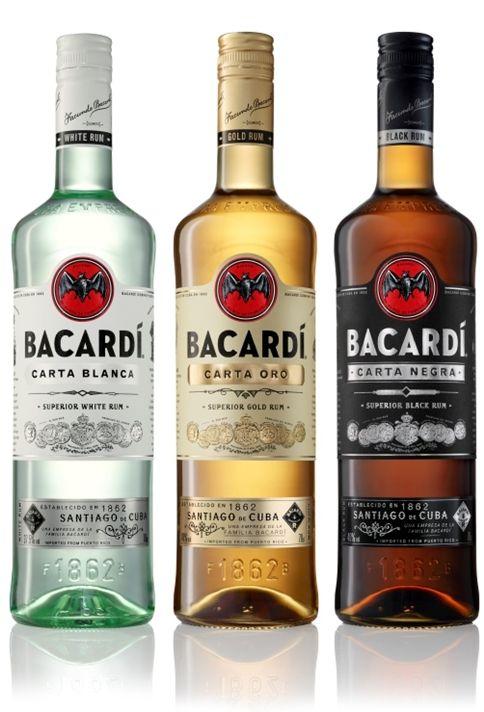Bacardi range