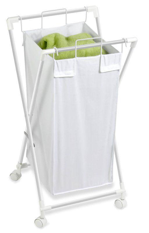 Single Folding Laundry Hamper Hamper Honey Can Do Folding Laundry