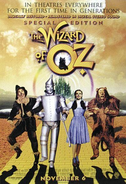 Wizard Of Oz Poster Alte Filme Filmplakate Altes Filmplakat