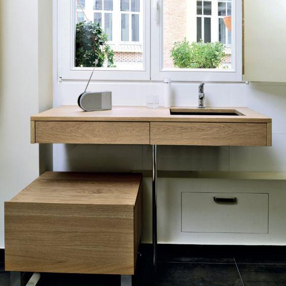 Une salle de bains tout en ouverture