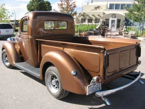 1939 ford pickup, the brown mobile -- i WILL own this one day