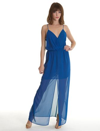 RORY BECA Andres Wrap Gown