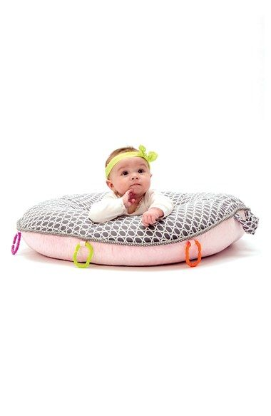 Infant Pello Majestic Portable Floor Pillow Cars, Donuts and Head and neck