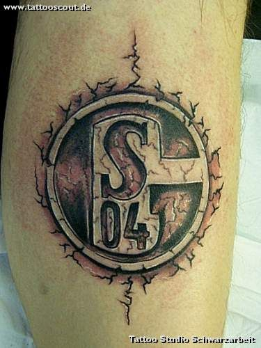 Tattoo-Foto: Schalke 04